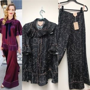NWT Roksanda Pajama Set 100% Silk